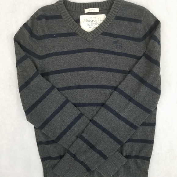 25a9f3c5 Abercrombie & Fitch Sweaters | Abercrombie Fitch Mens V Neck Sweater ...
